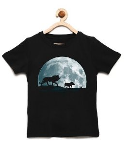 Camiseta Infantil King Moon - Loja Nerd e Geek - Presentes Criativos