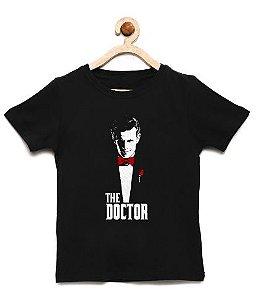 Camiseta Infantil Doutor - Loja Nerd e Geek - Presentes Criativos