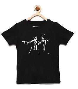Camiseta Infantil Brothers - Loja Nerd e Geek - Presentes Criativos