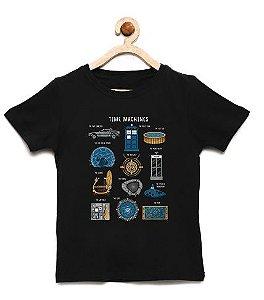 Camiseta Infantil Machines- Loja Nerd e Geek - Presentes Criativos