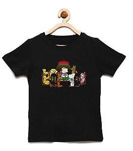 Camiseta Infantil Dogs Meeting - Loja Nerd e Geek - Presentes Criativos