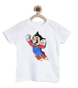 Camiseta Infantil Rocket Player - Loja Nerd e Geek - Presentes Criativos