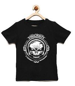 Camiseta Infantil Vigilante - Loja Nerd e Geek - Presentes Criativos