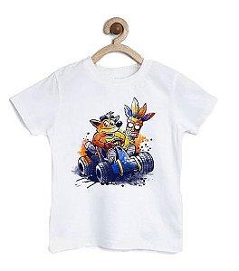 Camiseta Infantil Car Race  - Loja Nerd e Geek - Presentes Criativos