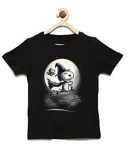 Camiseta Infantil Dog Bruxinho  - Loja Nerd e Geek - Presentes Criativos