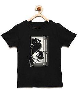 Camiseta Infantil Monstros - Loja Nerd e Geek - Presentes Criativos