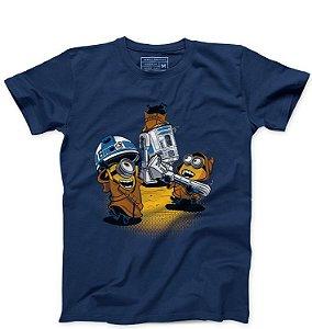 Camiseta Masculina  Mini Wars- Loja Nerd e Geek - Presentes Criativos