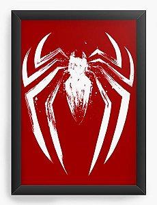 Quadro Decorativo A3 (45X33)  Red Man - Loja Nerd e Geek - Presentes Criativos