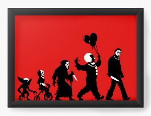 Quadro Decorativo A3 (45X33) Assassins - Loja Nerd e Geek - Presentes Criativos