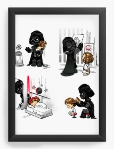 Quadro Decorativo A3 (45X33) Dark Daddy - Loja Nerd e Geek - Presentes Criativos