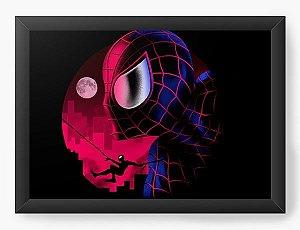 Quadro Decorativo A3 (45X33) Geekz Aracnídeo - Loja Nerd e Geek - Presentes Criativos