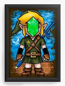Quadro Decorativo A3 (45X33) Geekz Elf - Loja Nerd e Geek - Presentes Criativos