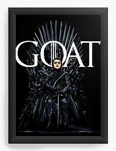 Quadro Decorativo A3 (45X33) Geekz Game of Thrones - Arya Stark - Loja Nerd e Geek - Presentes Criativos