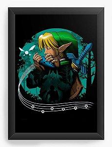 Quadro Decorativo A3 (45X33) Geekz Legnd Elf - Loja Nerd e Geek - Presentes Criativos