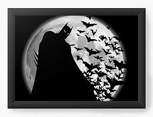 Quadro Decorativo A3 (45X33) Geekz Morcego Dark - Loja Nerd e Geek - Presentes Criativos