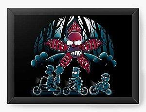 Quadro Decorativo A3 (45X33) Geekz Stranger  - Loja Nerd e Geek - Presentes Criativos