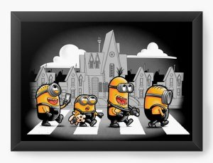 Quadro Decorativo A3 (45X33) Geekz The Minions - Loja Nerd e Geek - Presentes Criativos