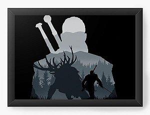 Quadro Decorativo A3 (45X33) Geekz The Witcher - Loja Nerd e Geek - Presentes Criativos