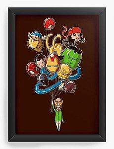 Quadro Decorativo A3 (45X33) Geekz Vingança - Loja Nerd e Geek - Presentes Criativos