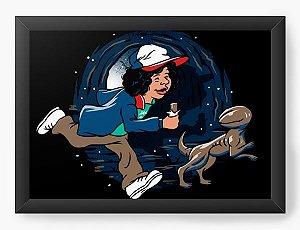 Quadro Decorativo A3 (45X33) Stranger  - Loja Nerd e Geek - Presentes Criativos