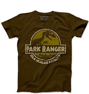 Camiseta Masculina Parque Ranger  - Loja Nerd e Geek - Presentes Criativos