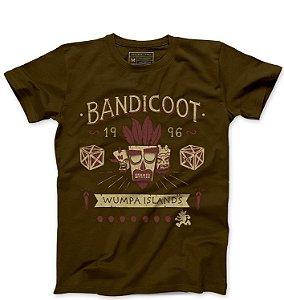 Camiseta Masculina Bandicoot 96 - Loja Nerd e Geek - Presentes Criativos