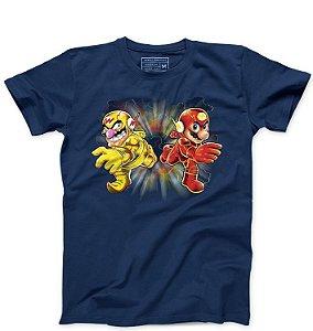 Camiseta Masculina Flash Bros - Loja Nerd e Geek - Presentes Criativos
