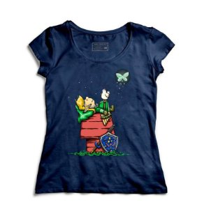 Camiseta Feminina Legend of Elf - Loja Nerd e Geek - Presentes Criativos