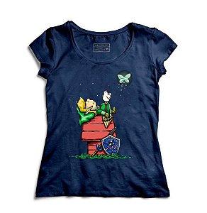Camiseta Feminina Legend of Elf - Loja Nerd e Geek - Presentes Criativos