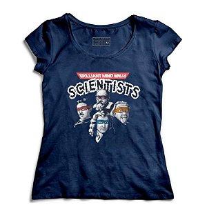 Camiseta Feminina Cientistas - Loja Nerd e Geek - Presentes Criativos