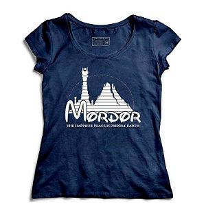 Camiseta Feminina Mordor - Loja Nerd e Geek - Presentes Criativos