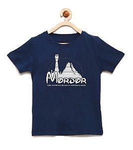 Camiseta Infantil Mordor - Loja Nerd e Geek - Presentes Criativos