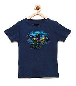 Camiseta Infantil Thanos Infinity - Loja Nerd e Geek - Presentes Criativos