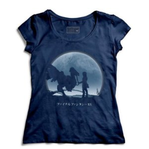 Camiseta Feminina Chocobo - Loja Nerd e Geek - Presentes Criativos