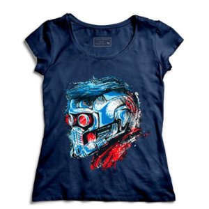Camiseta Feminina Guardian Star Lord - Loja Nerd e Geek - Presentes Criativos