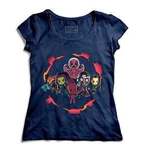Camiseta Feminina Galaxi - Loja Nerd e Geek - Presentes Criativos