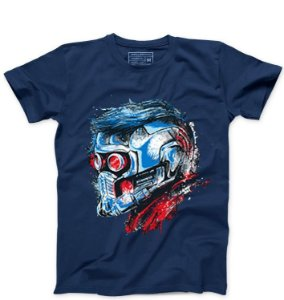 Camiseta Masculina Guardian Star Lord - Presentes Criativos