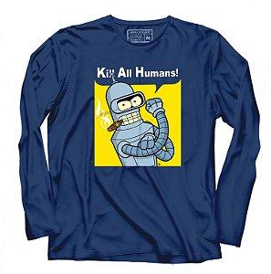 Camiseta Manga Futurama - Loja Nerd e Geek - Presentes Criativos