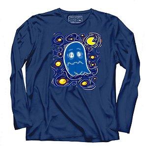 Camiseta Manga Longa Ghost - Loja Nerd e Geek - Presentes Criativos