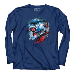 Camiseta Manga Longa Guardian Star Lord - Loja Nerd e Geek - Presentes Criativos