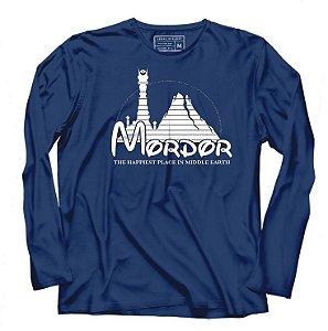 Camiseta Manga Longa Mordor - Loja Nerd e Geek - Presentes Criativos