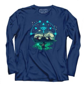 Camiseta Manga longa Legend of Elf Wild - Loja Nerd e Geek - Presentes Criativos