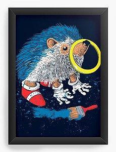 Quadro Decorativo A4 (33X24)  The Fast  - Loja Nerd e Geek - Presentes Criativos