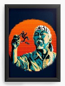 Quadro Decorativo A4 (33X24)  O Ninja - Loja Nerd e Geek - Presentes Criativos