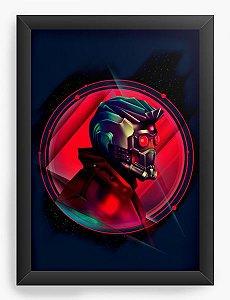 Quadro Decorativo A4 (33X24) Rei das Galáxias- Loja Nerd e Geek - Presentes Criativos