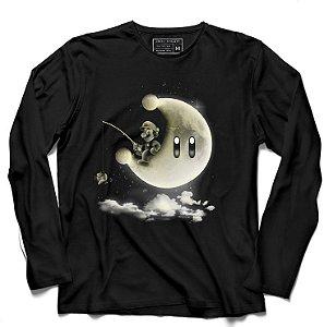 Camiseta Manga Longa Plumber - Mundo da Lua - Loja Nerd e Geek - Presentes Criativos