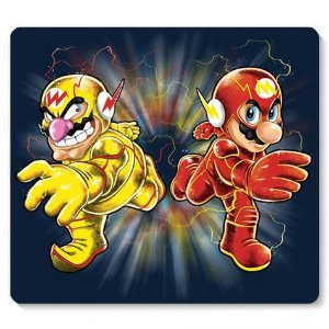 Mouse Pad Flash Bros - Loja Nerd e Geek - Presentes Criativos