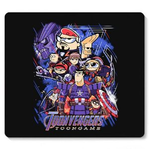 Mouse Pad Toonvengers Game - Loja Nerd e Geek - Presentes Criativos