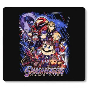 Mouse Pad Plumber Game Over - Loja Nerd e Geek - Presentes Criativos