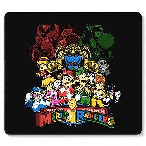 Mouse Pad Plumber Rangers - Loja Nerd e Geek - Presentes Criativos
